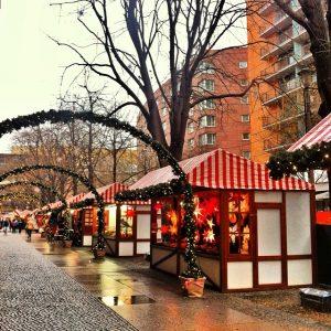 Yuletide in Berlin at the Potsdamer Platz Christmas Market
