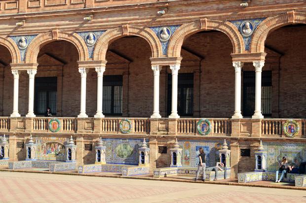 Plaza de España (Seville) | http://travelsofadam.com