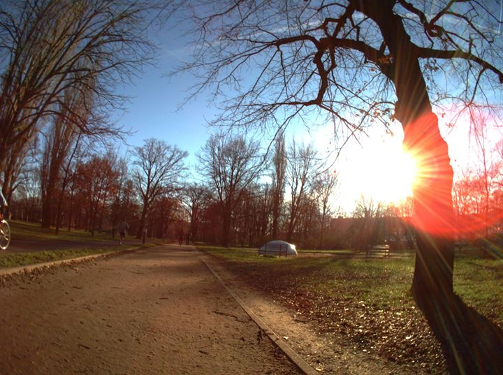 Berlin - Winter Sun - Autographer