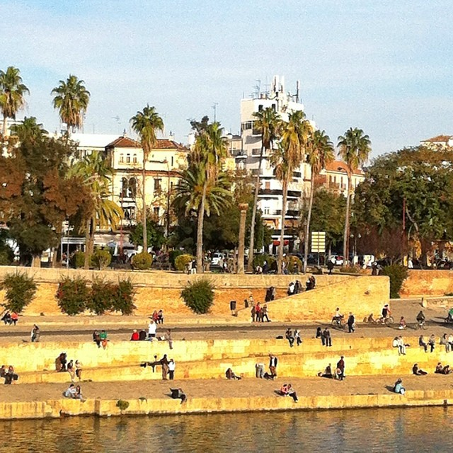 View from Triana