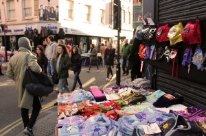 Brick Lane on Sunday