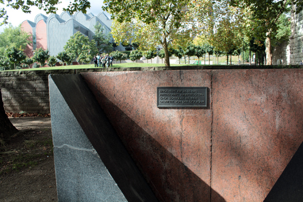 Cologne Memorial for Gay and Lesbian Victims of Nazism