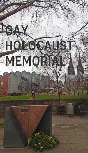 Gay Holocaust Memorial in Cologne