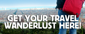Sign up for the travel wanderlust newsletter