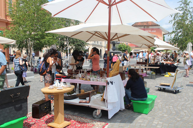 Ljubljana Sunday Market