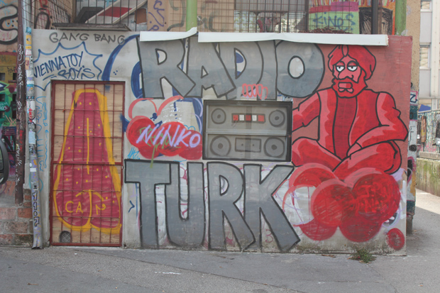 Ljubljana Street Art - Metelkova