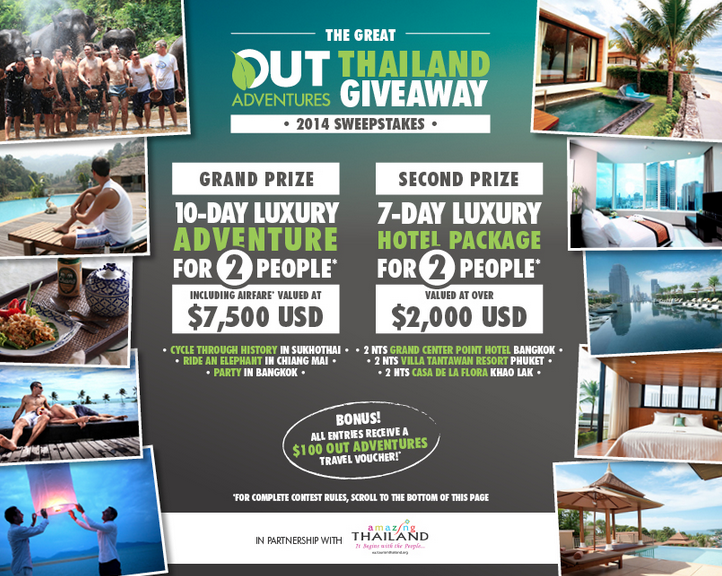 OUT Adventures Thailand Giveaway