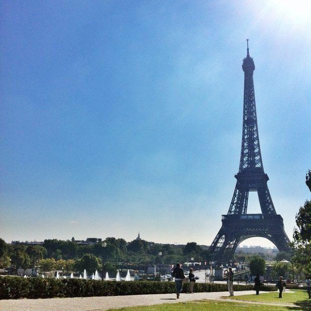 Eiffel Tower - Instagram