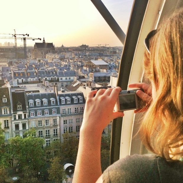 Sunset from the Pompidou