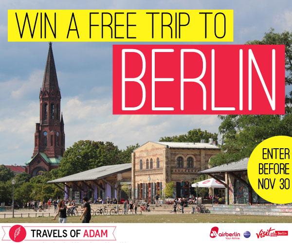 win a trip to Berlin