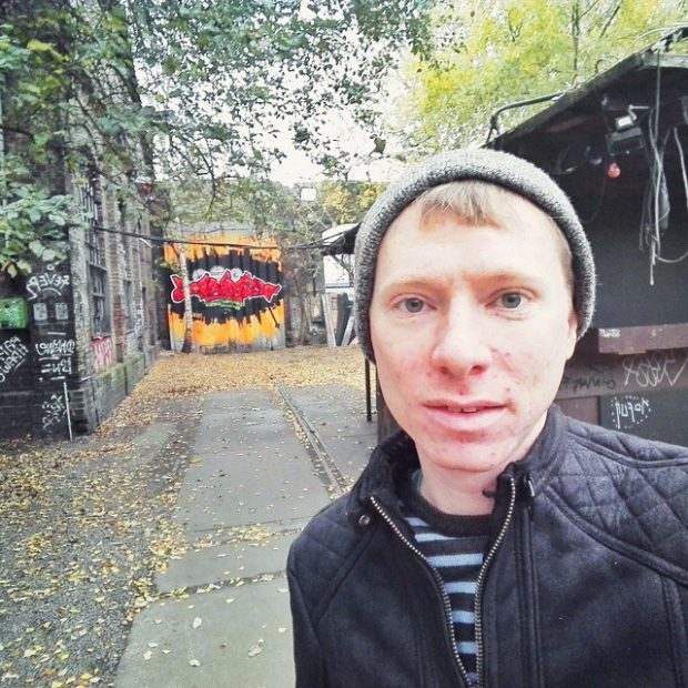 Berlin selfie