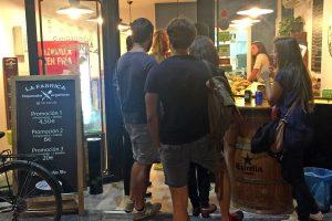 La Fabrica - empanadas in Barcelona