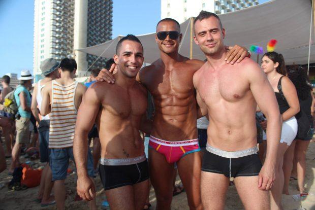 Sexy guys in Tel Aviv