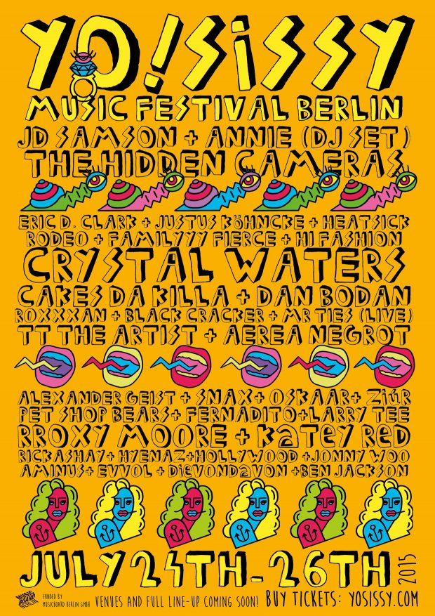 Yo! Sissy Berlin Queer Music Festival