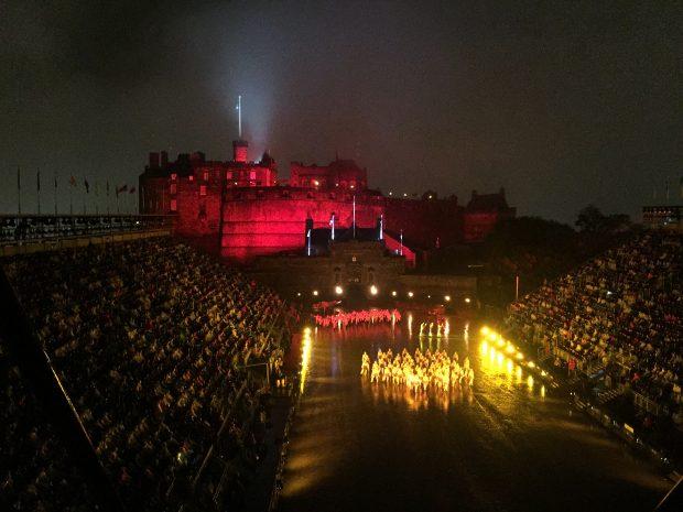 Edinburgh Castle - Royal Military Tattoo