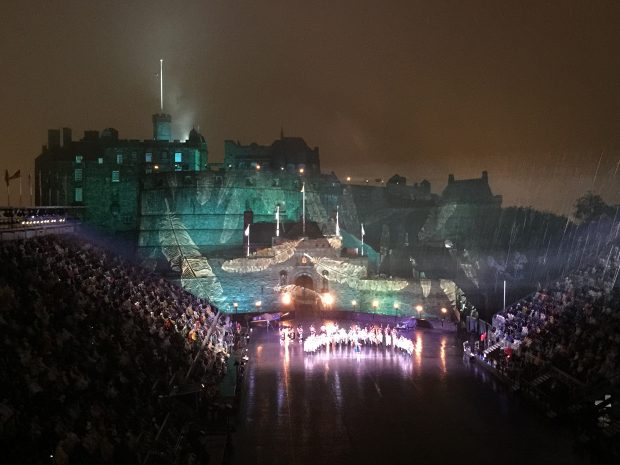 Edinburgh Castle - Royal Military Tattoo