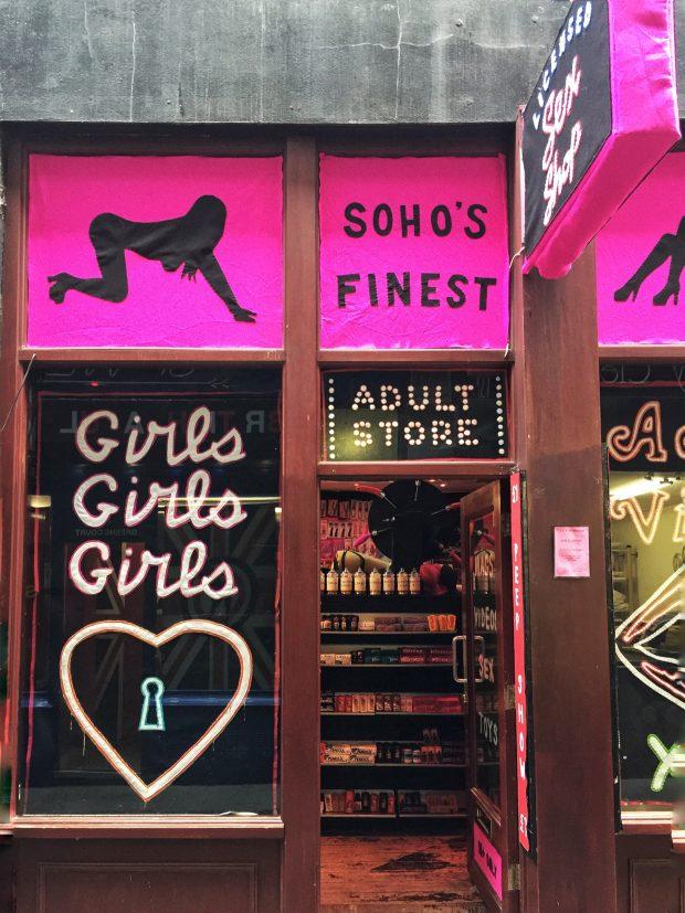 Madame Roxy's Erotic Emporium - Soho London