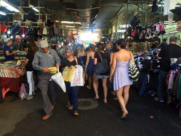 Budget Shopping in Tel Aviv