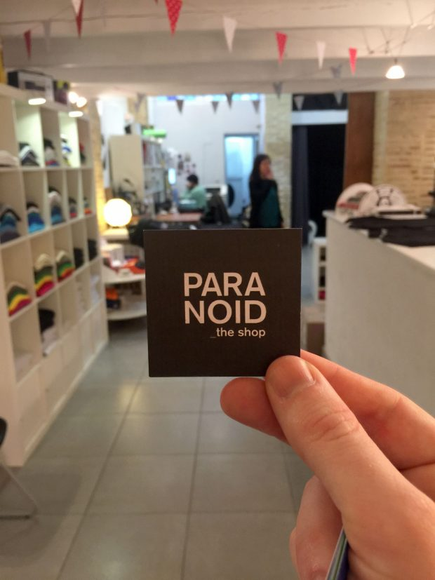 Paranoid Shop - Valencia