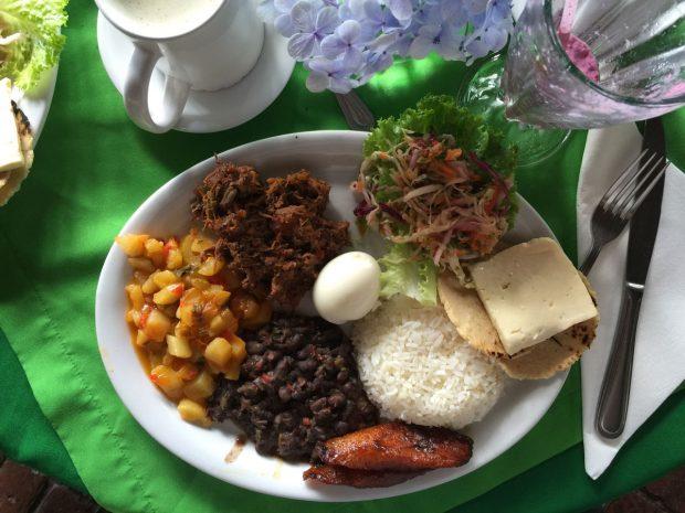 Casado - Costa Rica Traditional Foods