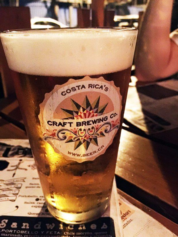 Craft beer in Costa Rica