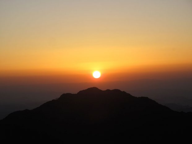 Mount Sinai, Egypt (sunrise)