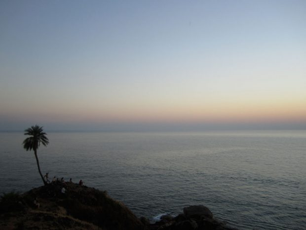 Om Beach, Gokarna, India (sunset)