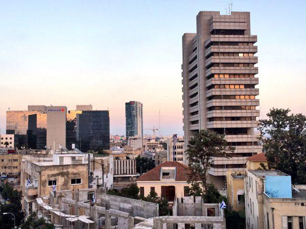 View from Abraham Hostel Tel Aviv