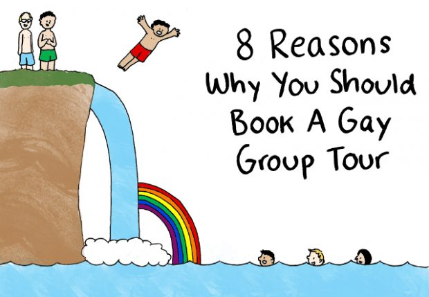 Gay Travel - 8 Reasons Why You Should Book a Gay Group Tour