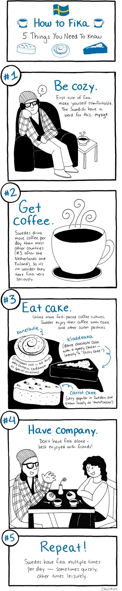How to Fika in Sweden