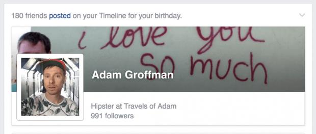 Adam Groffman - Facebook - https://facebook.com/agroffman/