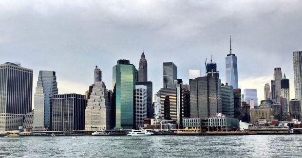 Manhattan Skyline - Travels of Adam
