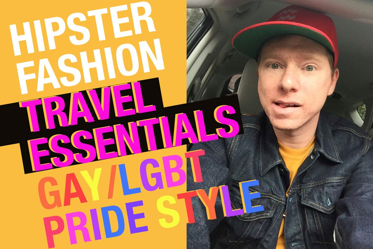 Hipster Fashion • Travel Essentials • Gay/LGBT Pride Style • Shopping at https://travelsofadam.com/shop/