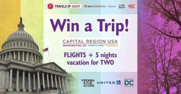 Win A Romantic Holiday to Washington, D.C. and Virginia - http://contest.travelsofadam.com/winvirginia/