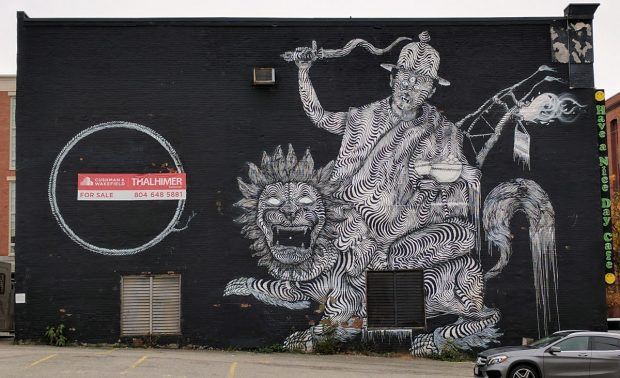 PHOTOS: Street Art in Richmond - Travels of Adam - https://travelsofadam.com/2017/03/street-art-richmond/