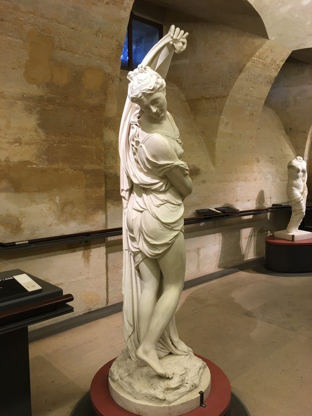 Sculpture at the Louvre