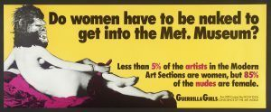 Guerrilla Girls - Met Women