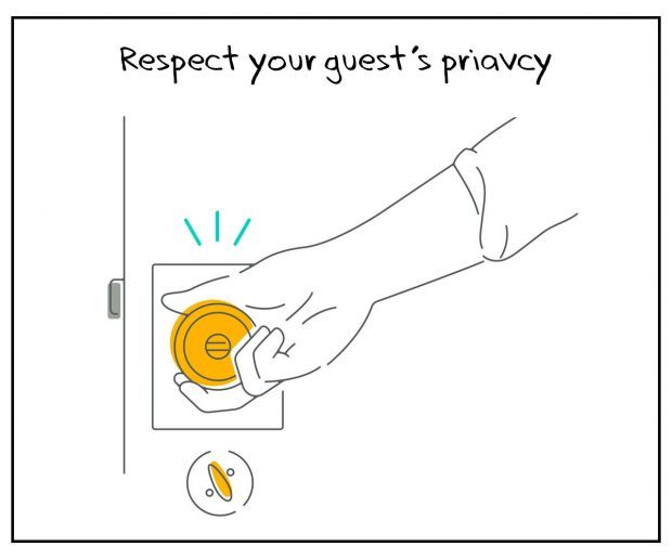 Airbnb Host Tips - Respect your guest's privacy