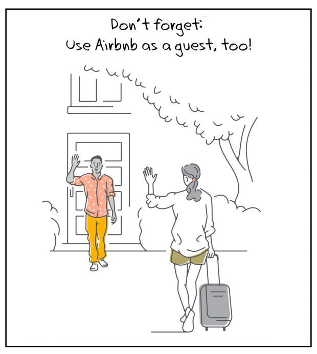 Airbnb Host Tips - Don't forget: Use Airbnb as a guest, too!