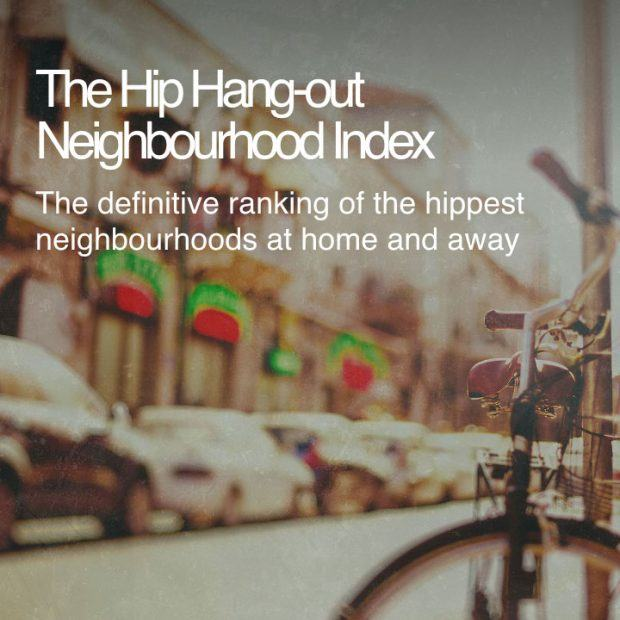 Hip Hang-out Neighbourhood Index