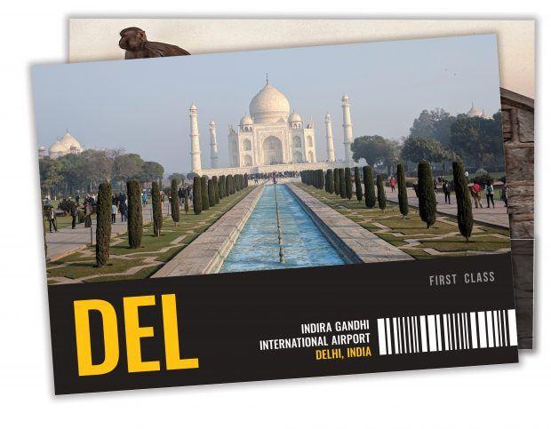 Postcards India - Travels of Adam