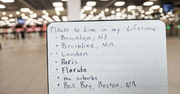places to live - journal entry - travels of adam