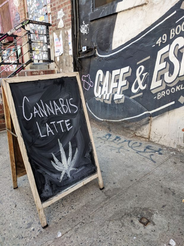 Brooklyn Hipster Coffee - Cannabis Latte