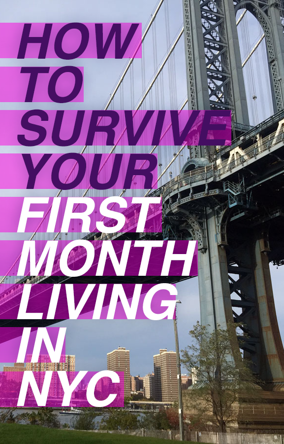 How to survive your first month living in NYC