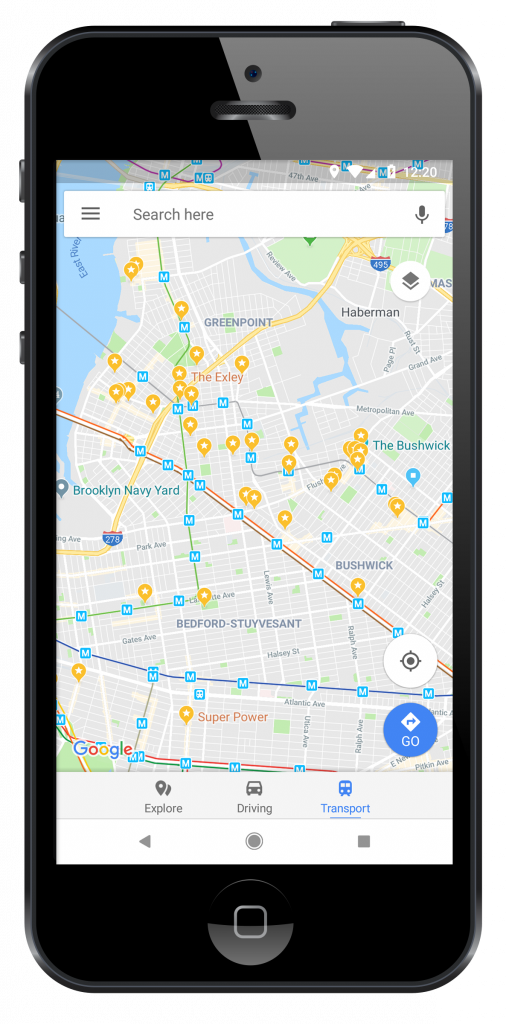 North Brooklyn Map - Google Maps