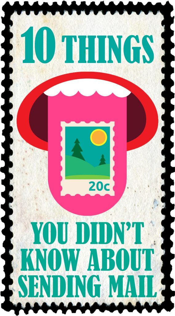 10 Things You Didn't Know about Sending Mail - Travels of Adam - https://travelsofadam.com/2018/06/postcard-fun-facts/