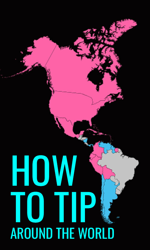 How to Tip Around the World - Illustrated Guide