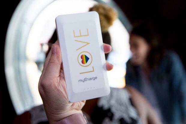 gay travel gadget - mycharge pride