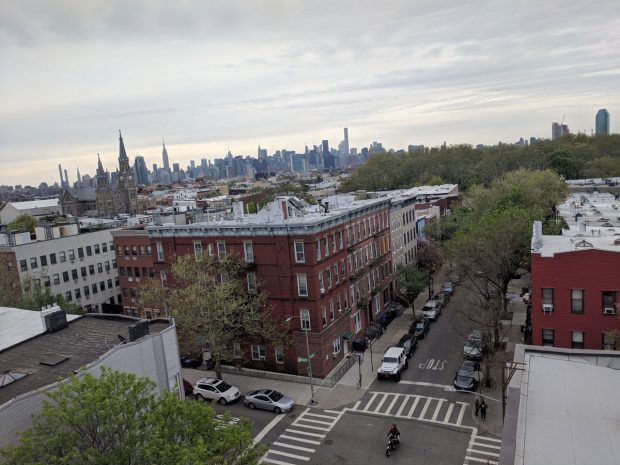 NYC Skyline from Greenpoint (Brooklyn) apartment