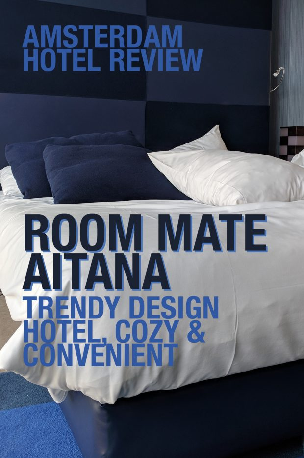 HotelTonight Review: Room Mate Aitana in Amsterdam (cool & convenient design hotel)